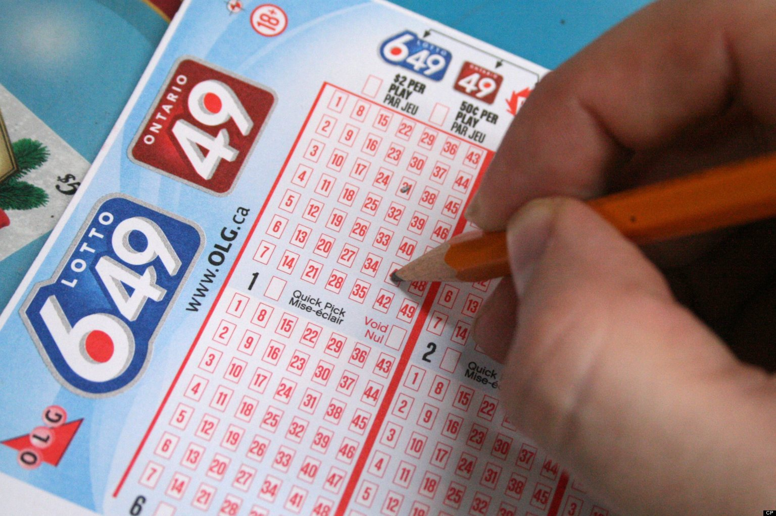 Someone in Cornwall has won big with Lotto 6/49