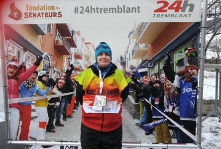Alex Tourangeau represents at 24h Tremblant