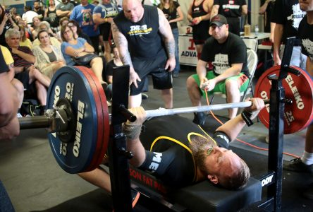 Quest holds weekend powerlifting competition
