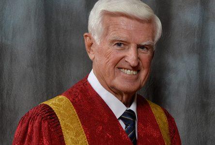 Ed Lumley recognized as UWindsor Chancellor Emeritus