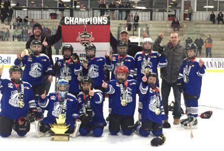 Atom C Colts win Capital League Championship