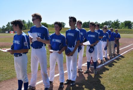 Cornwall hosts Provincial Seniors Baseball Tournament