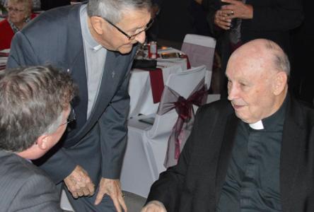 Long serving priest, Bernie Cameron, has died
