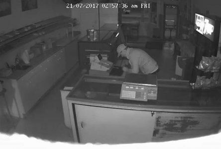 Police seek assistance in break-in at Riley's Bakery