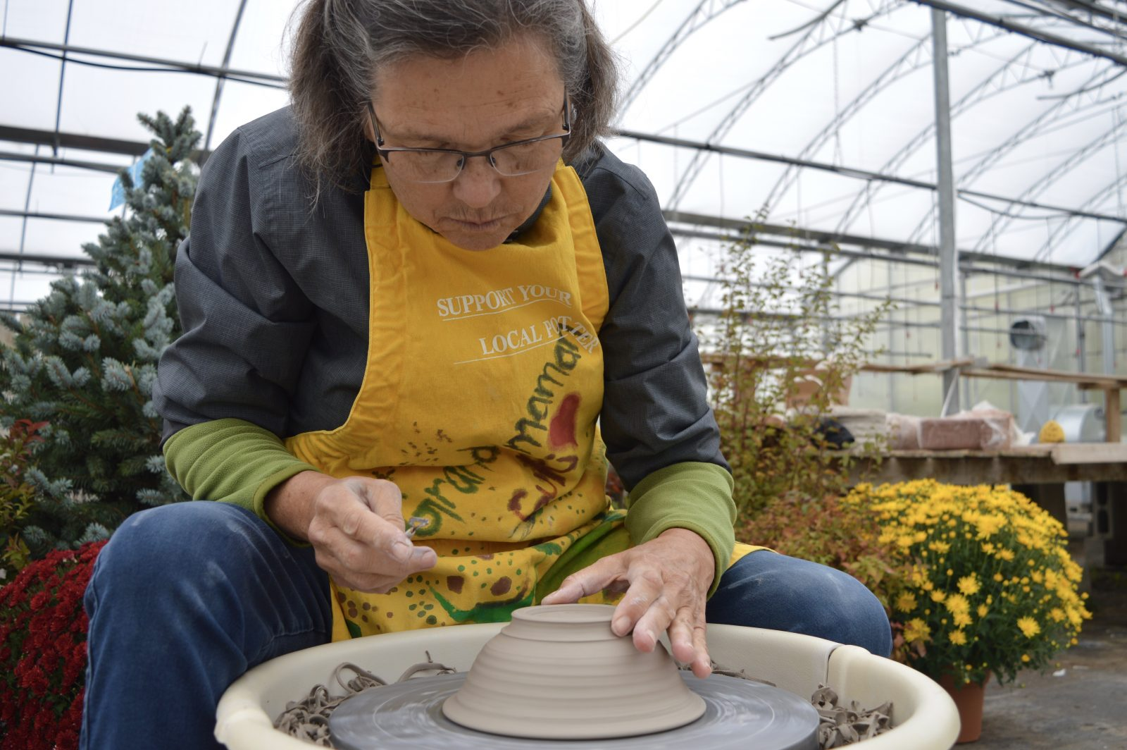 WEEKEND EVENT: Country Harvest Pottery Sale