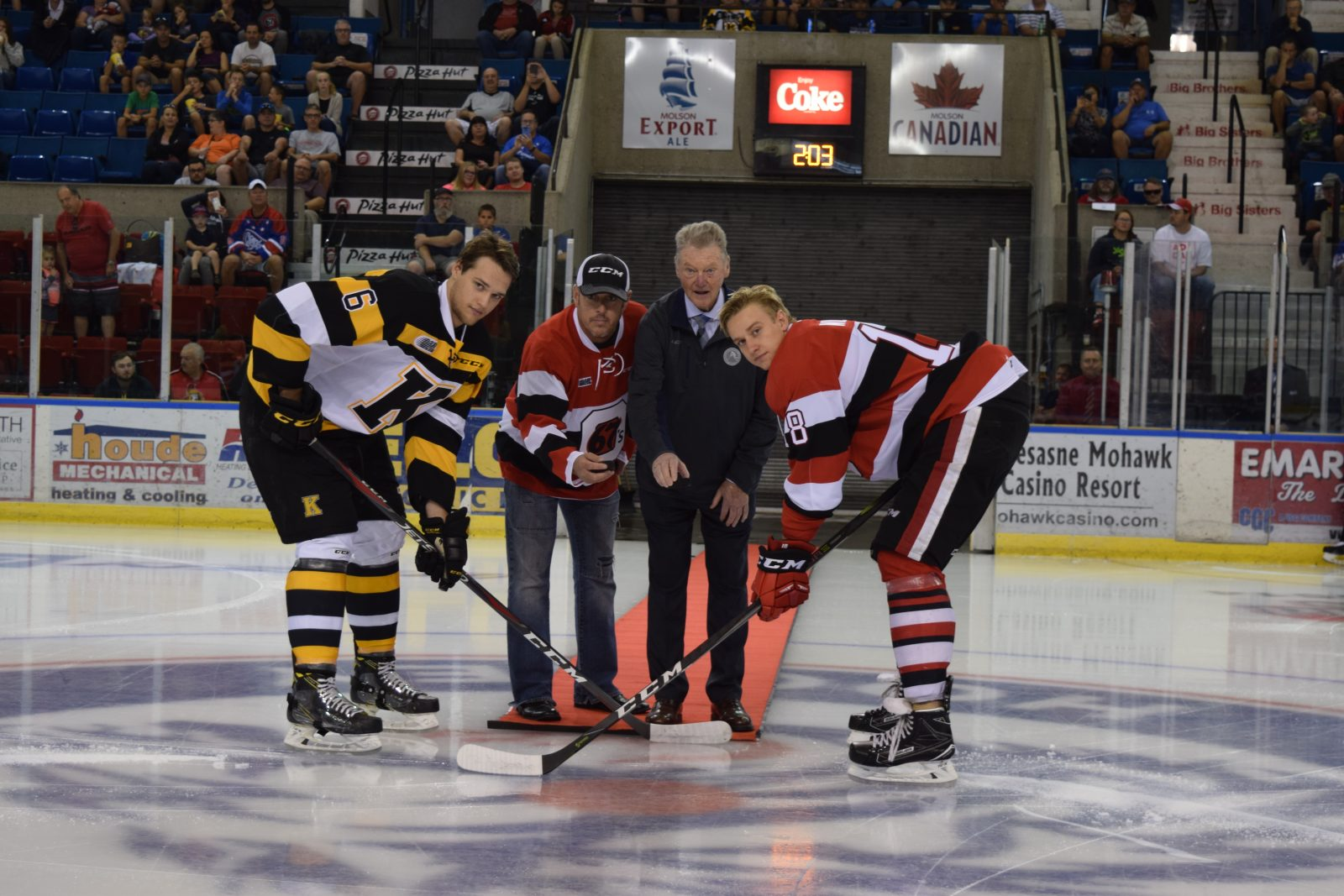 OHL hockey returns to the Cornwall Civic Complex