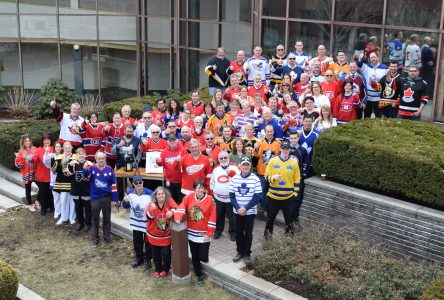 Cornwall region honours Humboldt on Jersey Day