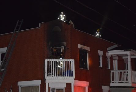 Fire on Alice St.