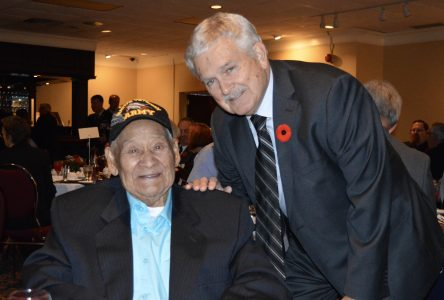 First annual Take a Veteran to Dinner in Cornwall