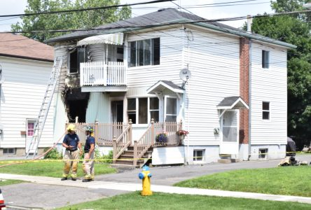 Residents displaced by St. Felix St. fire