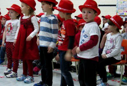 Maxville Public School celebrates Canada 150