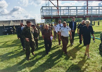 Federal Public Safety Minister tours Nav Centre