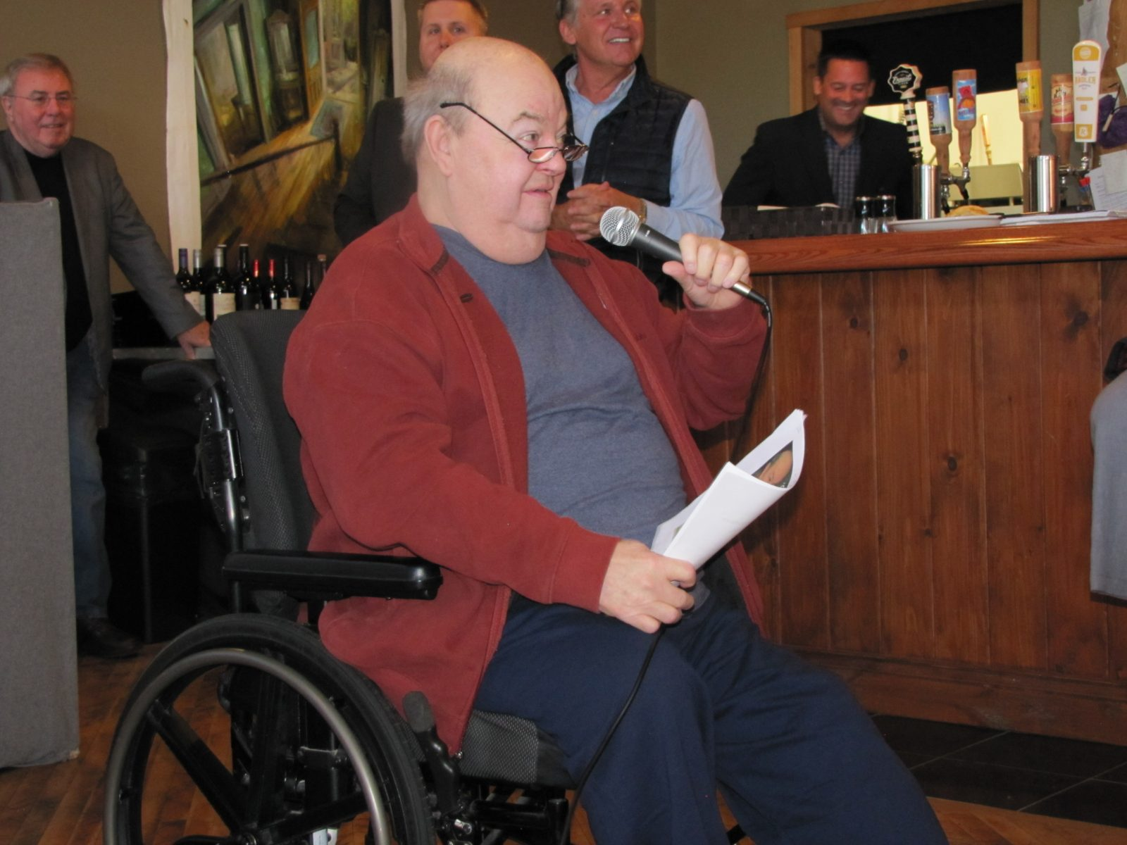 Charlebois honoured with recreational path