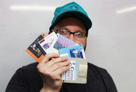 Finding fun with floppies