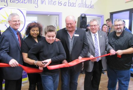 All smiles at the Grand Opening of the House of Hope