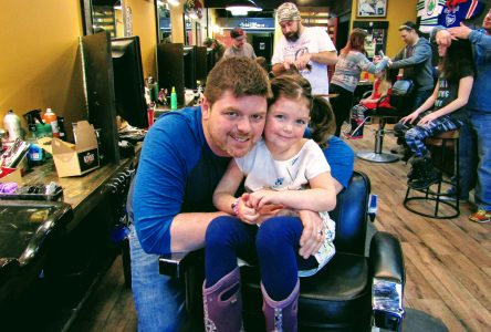 Dads tackle tangles for a good cause