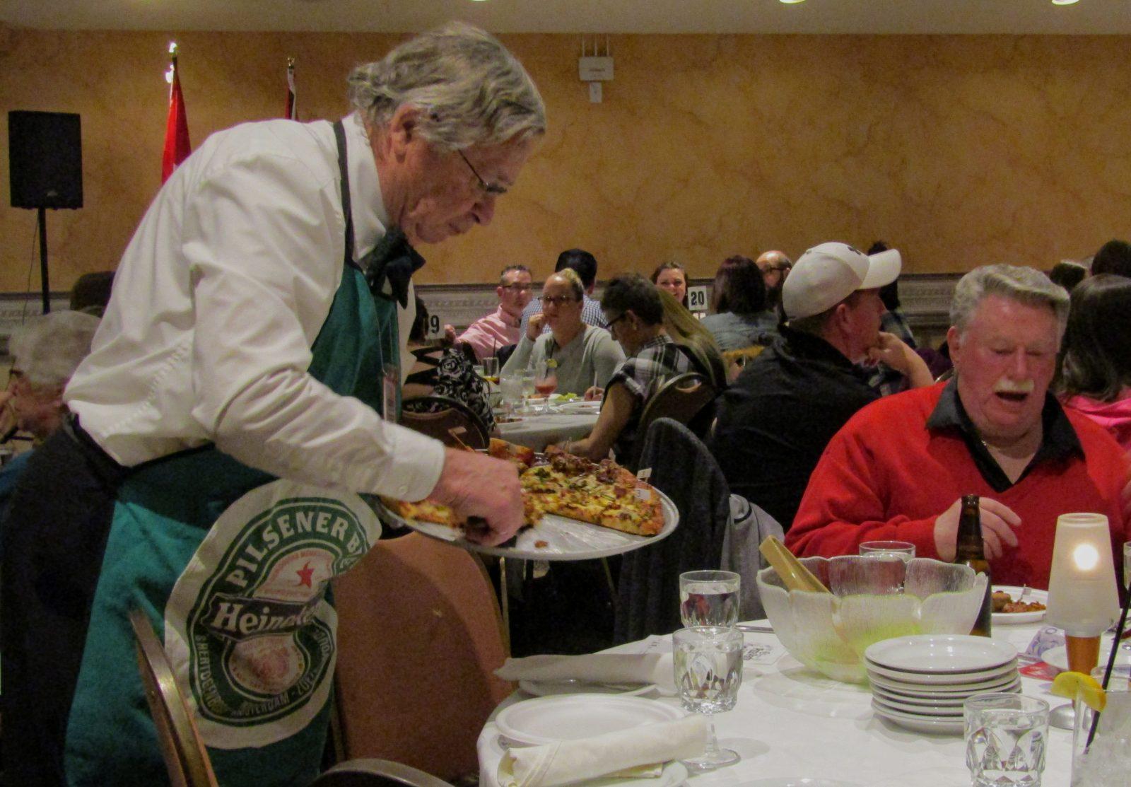 Kinsmen serves up slices for a cause