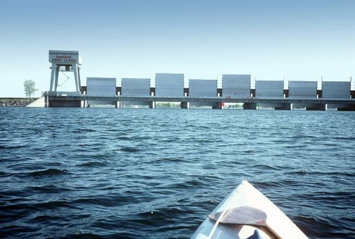 Iroquois dam gates closed indefinitely