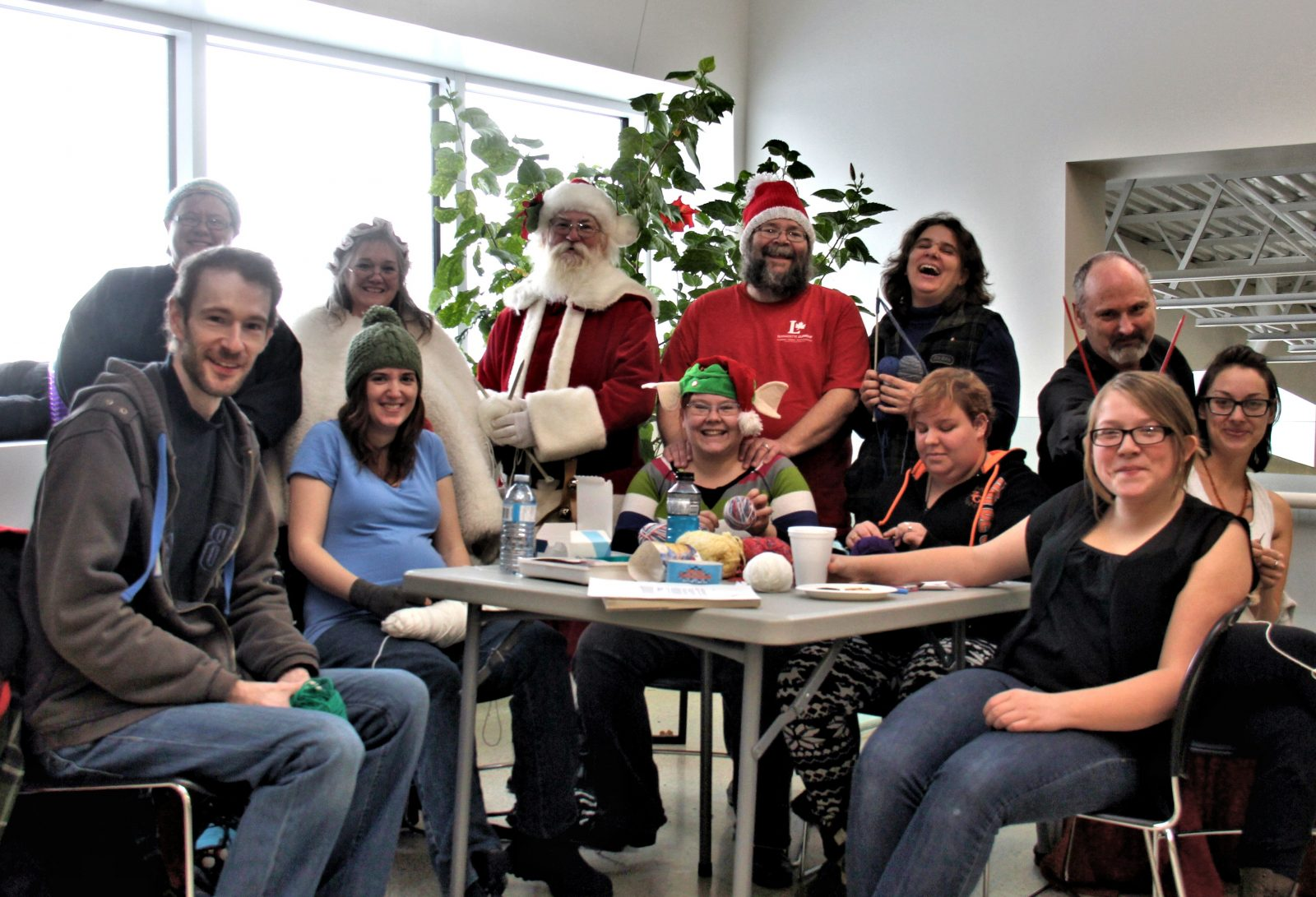 Knit In Brings Volunteer Knitters Together For a Cause