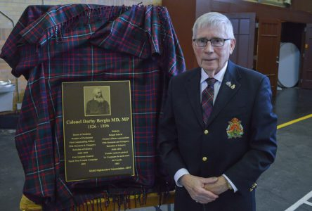 Annual Highlander's Levée honours historical hero