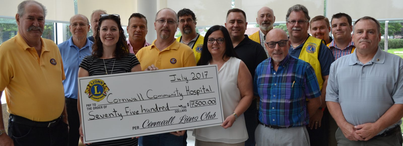 Lions help CCH fight cataracts