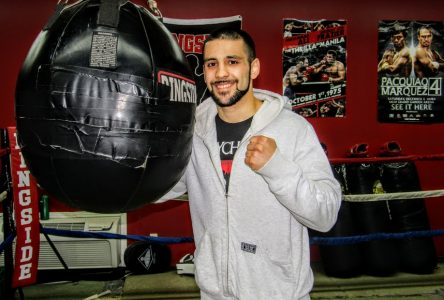 Tony talks boxing and balance in preparation for homecoming fight