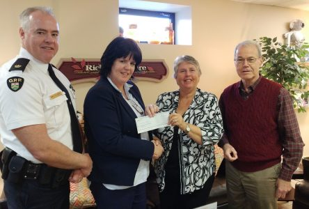OPP supports charities in SD&G