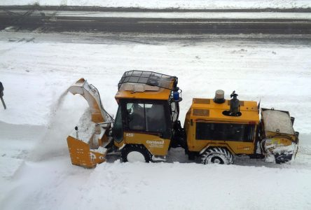 City plans for evening of snow clearing