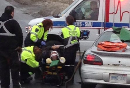 UPDATE: Paramedics, cops at scene of Brookdale accident
