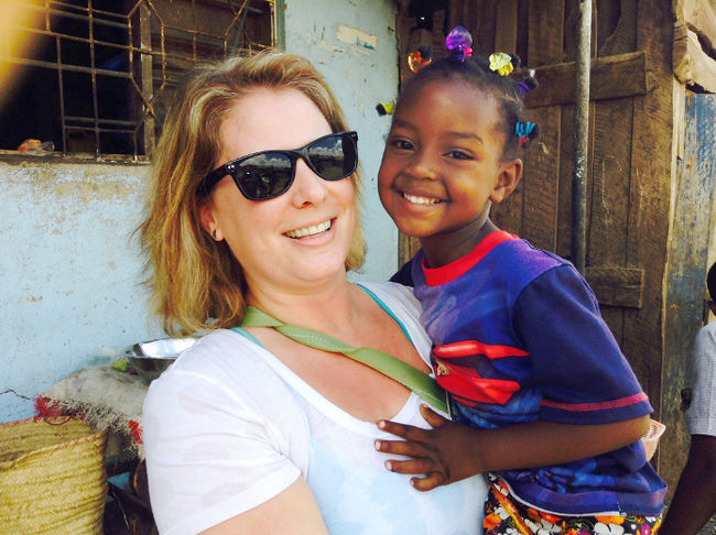 Canadian mother with local roots on a mission to help children in Tanzania