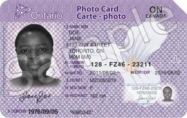 Photo ID cards available at area Service Ontario offices