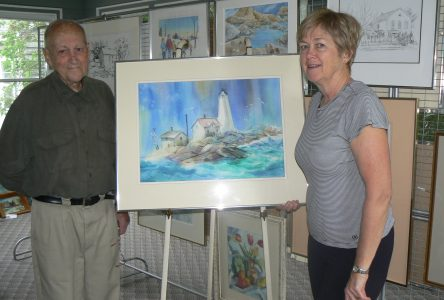 Extensive art collection up for sale