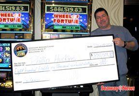 Big winners at the Akwesasne Mohawk Casino