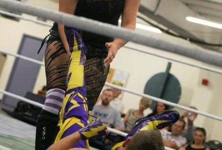 Breaking gender barriers, wrestling diva set for title shot