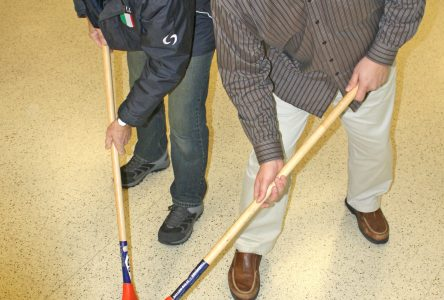 GETTING SWEPT UP: New broomball league looms