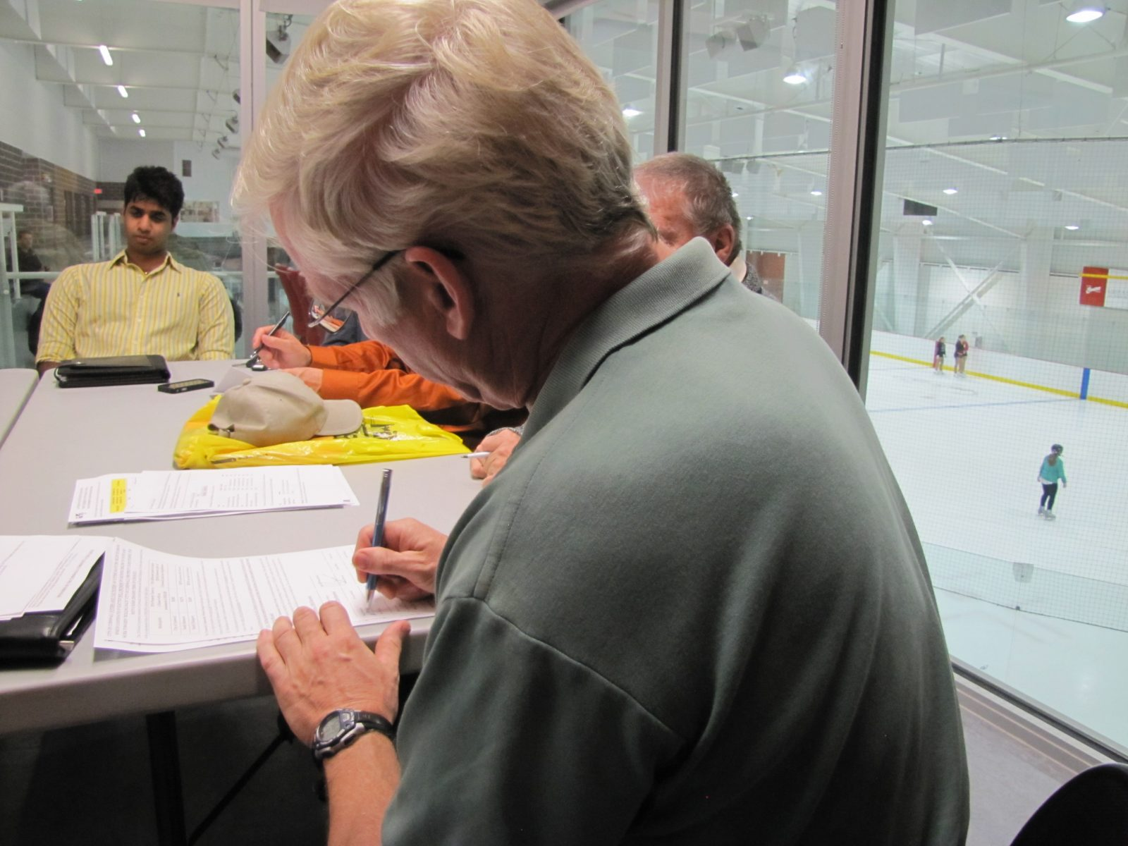 Candidate signatures appear on tax reduction pledge