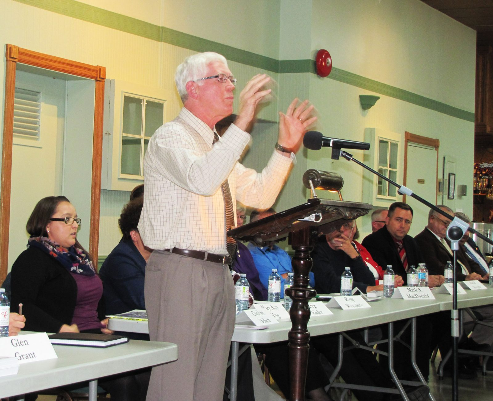 Candidates actually talk jobs at labour council debate