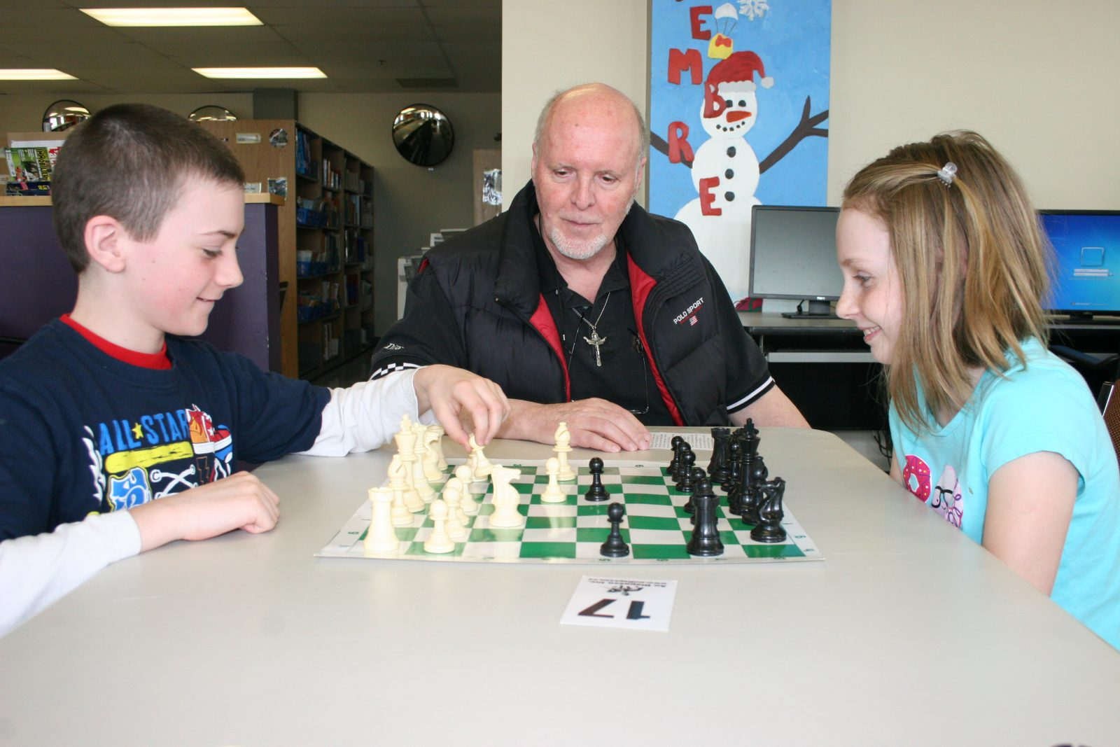 Chess tournament continues to thrill