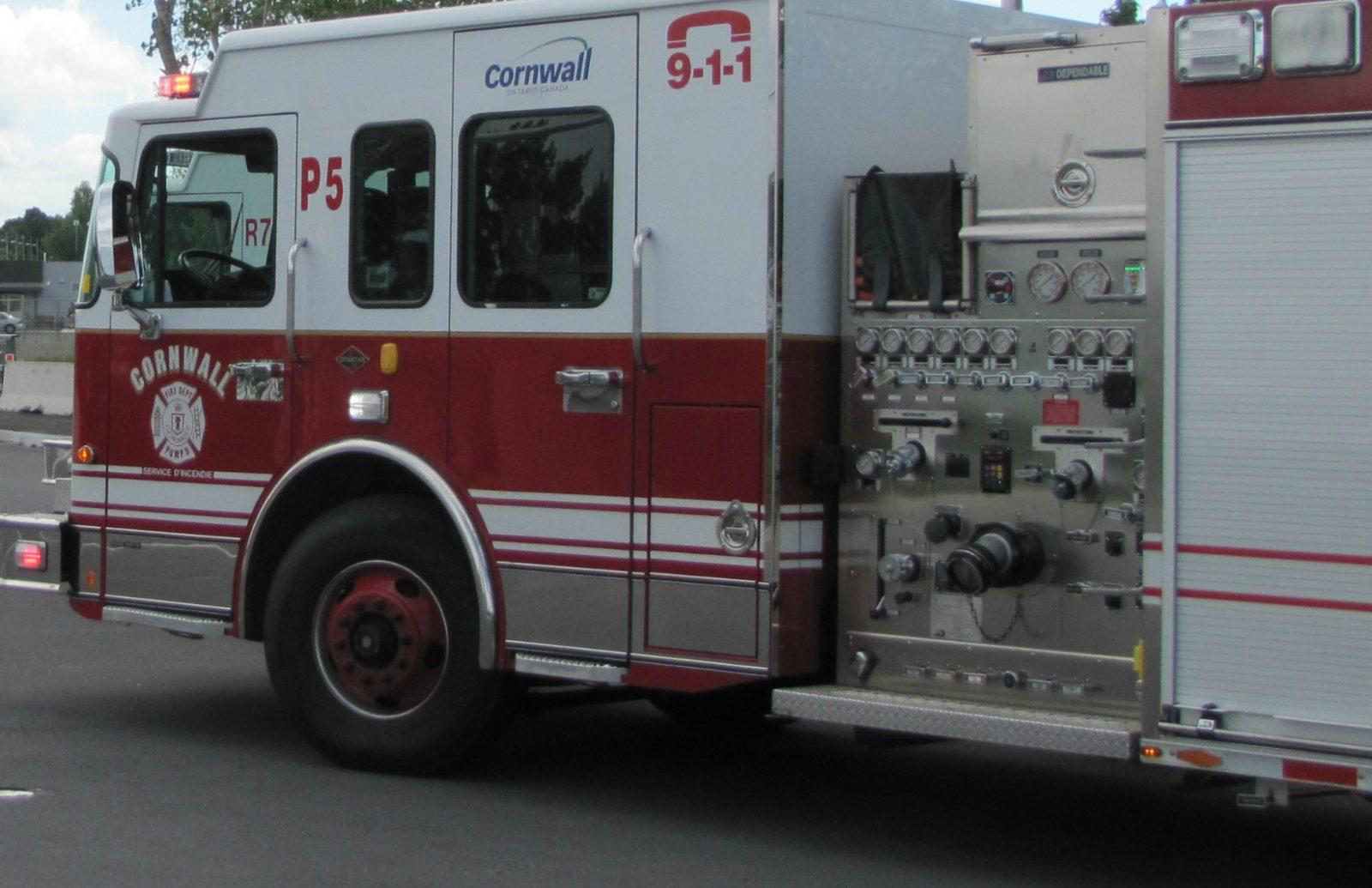 Early Morning Fire on Belmont Street
