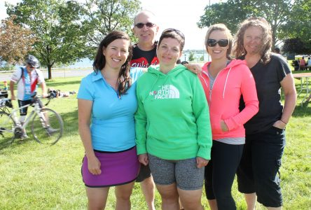 Fundraising cyclist living with MS faces disease head-on