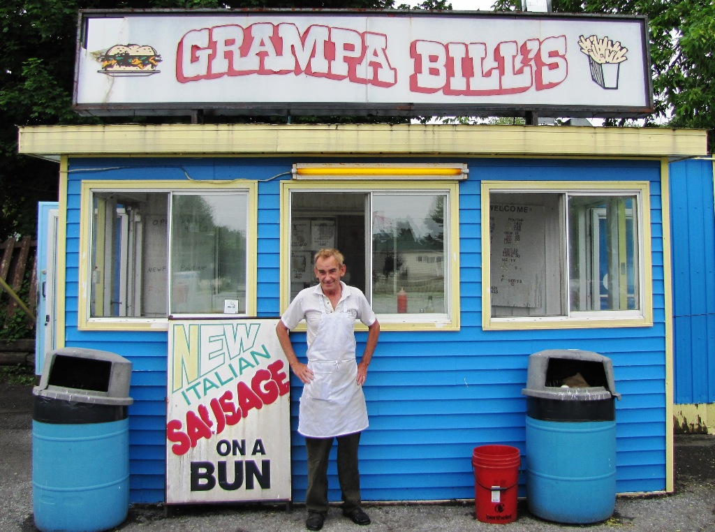 Chip stand owner dishes on his side of the story