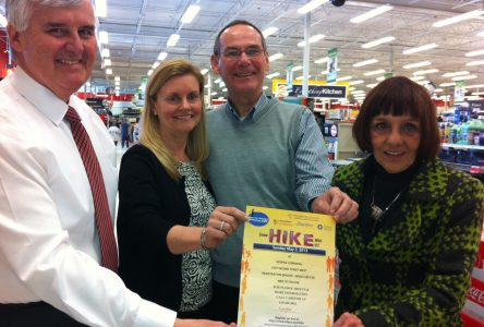 Canadian Tire owners get behind Hike for Hospice