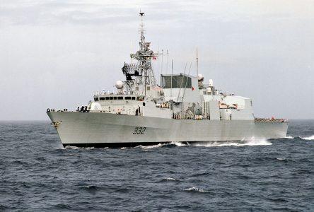 HMCS Ville de Quebec a jewel of the navy crown