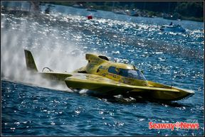 Hydroplane races in Long Sault