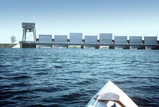 Iroquios Dam closed until further notice