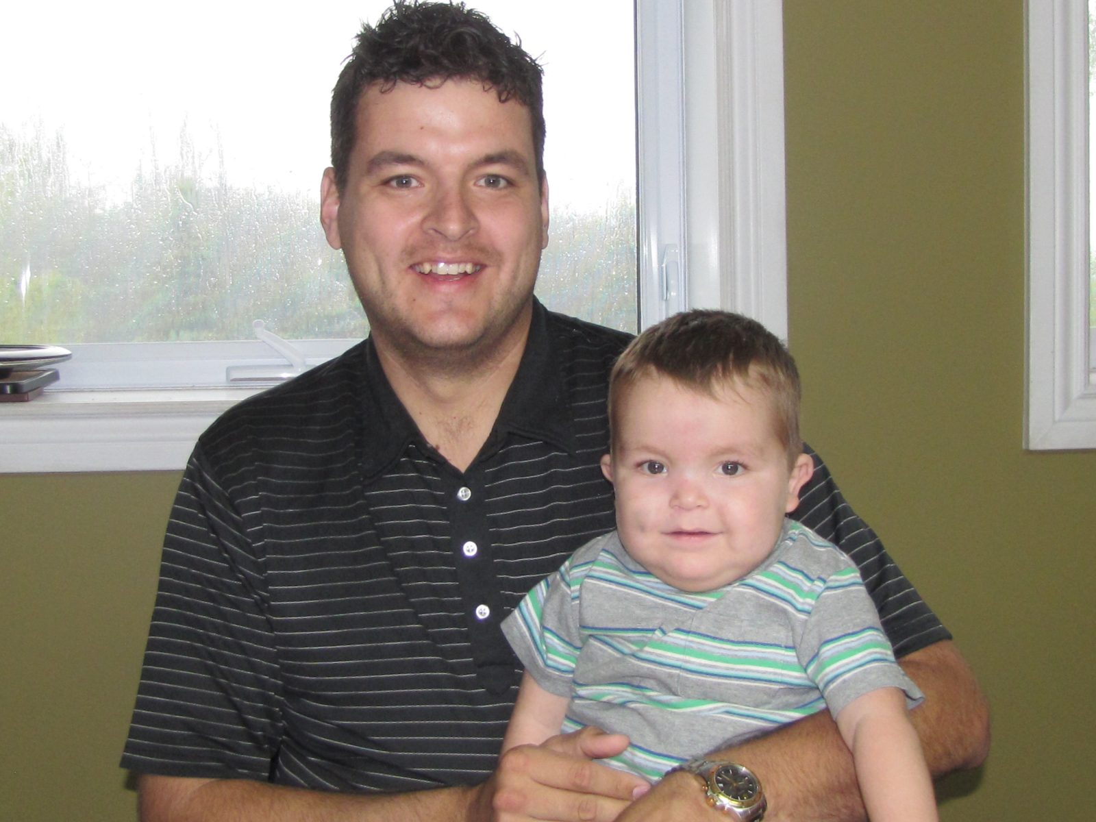 Cornwall father donates kidney to two-year-old son