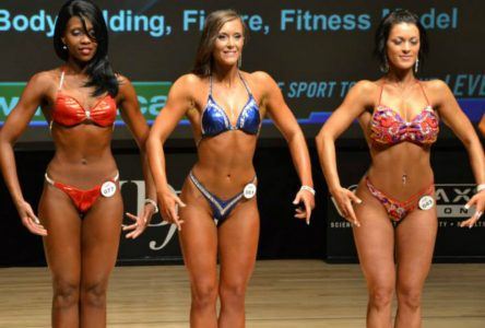 Rookie bodybuilder finishes in top three at Montreal show