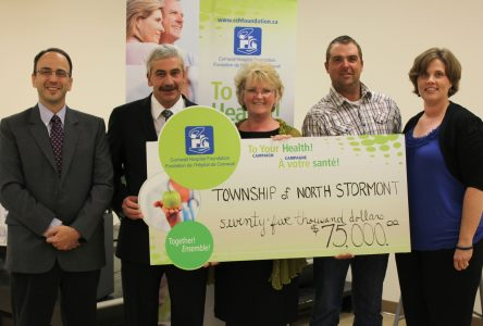 North Stormont provides $75,000 to hospital foundation