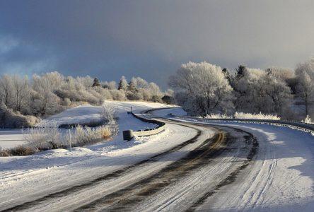 No winter roadtrips on Long Sault Parkway