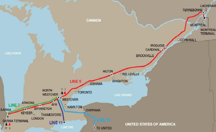 Energy board grants approval to Line 9 pipeline through